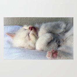 Sleepy Kitten Rug