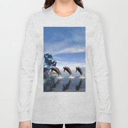 Synchronized swimming Long Sleeve T-shirt