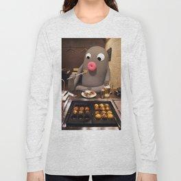 Lars loves  Takoyaki! Long Sleeve T-shirt