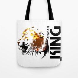 African King Tote Bag