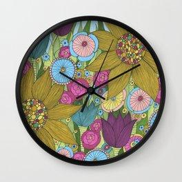Garden of Miracles Wall Clock