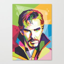 Pop Art Doctor Strange Canvas Print