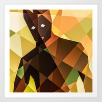 groot Art Prints featuring Groot by Eric Dufresne