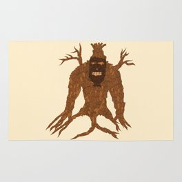 Tree Stitch Monster Rug