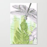 bugs Canvas Prints featuring Bugs by Marlidesigns
