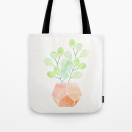 Bonsai Jade Plant Tote Bag