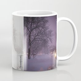 Winter Wonderland Scene Time Lapse Coffee Mug