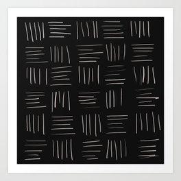 Open Weave Art Print