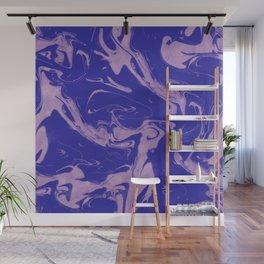 Adrift - Abstract Suminagashi Marble Series - 09 Wall Mural