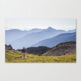 Mt. Rainier National Park 02 Canvas Print