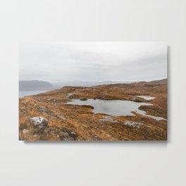Scottish highlands Metal Print