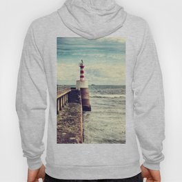 Amble Pier Lighthouse Hoody