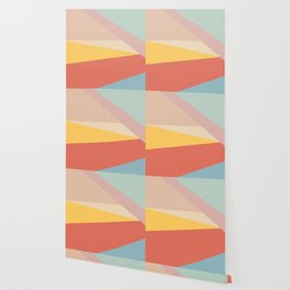 Retro Abstract Geometric Wallpaper