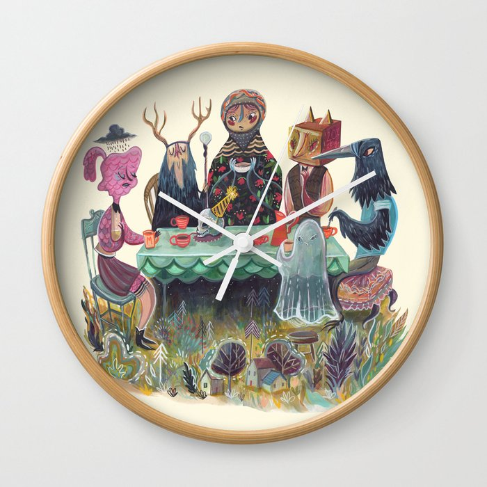 The Art of ruining conversation at dinner parties Wall Clock
