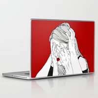 introvert Laptop & iPad Skins featuring Introvert 3 by Heidi Banford