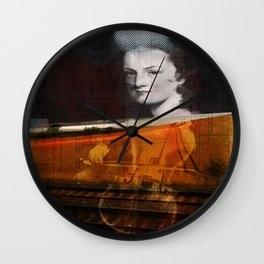 person place thing 2 Wall Clock