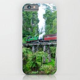 Puffing Billy Railway, Belgrave, Victoria iPhone Case
