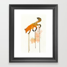 red_fox Framed Art Print