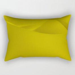 Yellow wavy surface Rectangular Pillow
