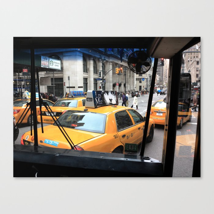 New York Taxi Cabs 2014 Canvas Print