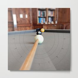 Eight Ball Corner Pocket Metal Print