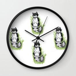 MerMeow Wall Clock