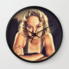Leila Hyams, Vintage Actress Wall Clock