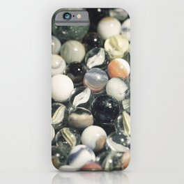 Vintage Glass Marbles 6 iPhone Case
