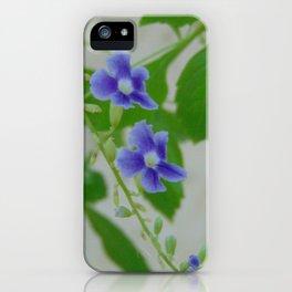 tiny purple iPhone Case