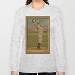 Vintage Backyard Baseball Player - Ames NY Long Sleeve T-shirt