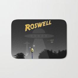 Aliens Over Roswell Bath Mat