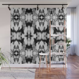 Tie Dye Blacks Wall Mural