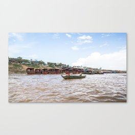Chong Khneas Floating Village II, Siem Reap, Cambodia Canvas Print