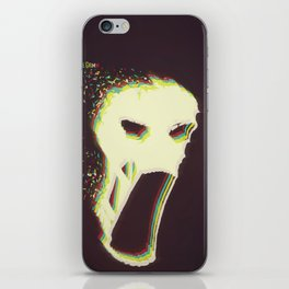 The Vaporized Grimm iPhone Skin