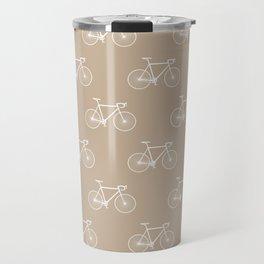 Chapeau velo - sand Travel Mug