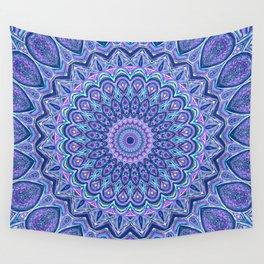 Purple Passion - Mandala Art Wall Tapestry