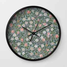 "William Morris ""Clover"" Wall Clock"