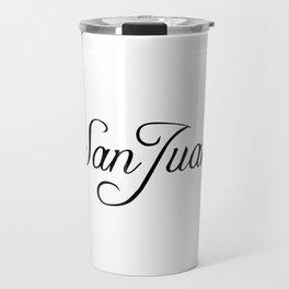 San Juan Travel Mug