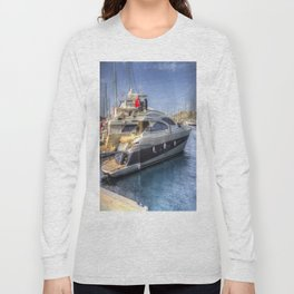 Pershing 90 Yacht Long Sleeve T-shirt