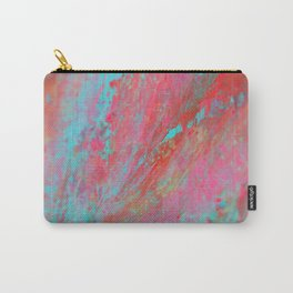 Colourful Nebula Universe Abstract Acrylic Painting Carry-All Pouch