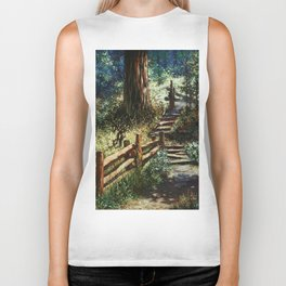 The Trail Less Traveled Biker Tank
