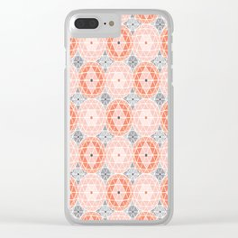 Geodome - Pink Clear iPhone Case