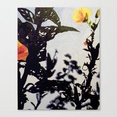 Leading Leaves Canvas Print