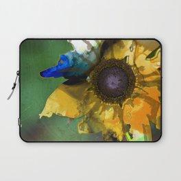 Modern Flower Art - Untamed Beauty - Sharon Cummings Laptop Sleeve
