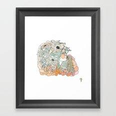 w a r m // m a r s h Framed Art Print
