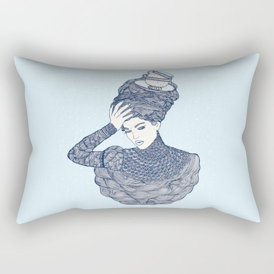 ♥ Early Winter,  Tea time (temporada oficial de tecitos ♥) Rectangular Pillow