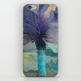 TheDesert blue -By Sherri Of Palm Springs iPhone Skin