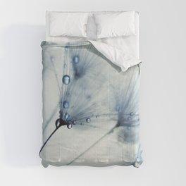 dandelion blue II Comforters