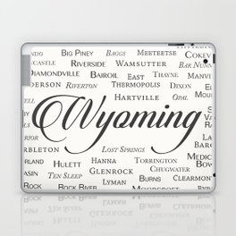 Wyoming Laptop & iPad Skin