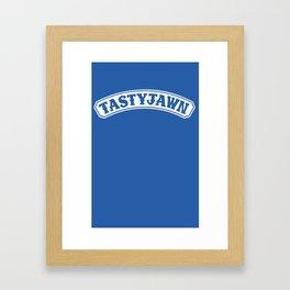 Tasty Jawn Framed Art Print